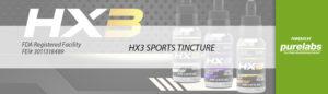 HX3 CBD Tincture