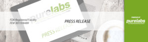 Pure Labs Press Release