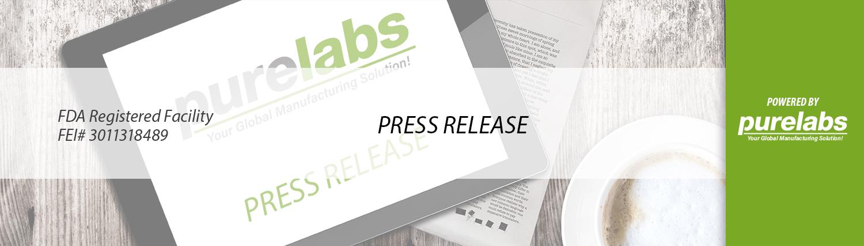 Pure Labs Press Release